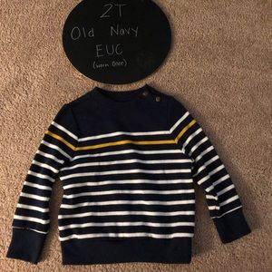 Toddler Boy's Sweater